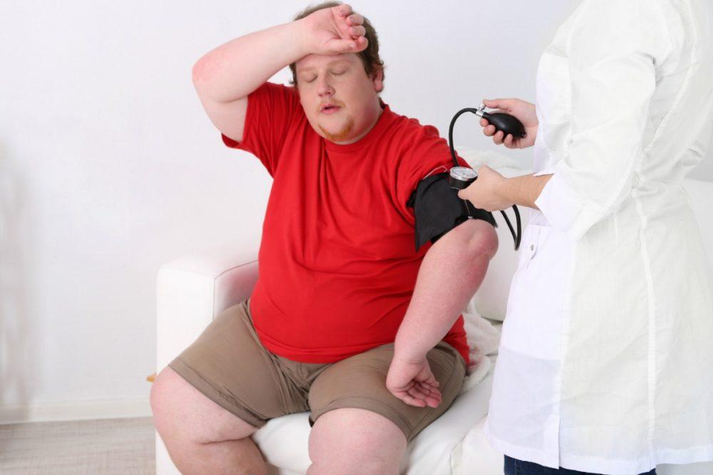 частое сердцебиение при ожирении