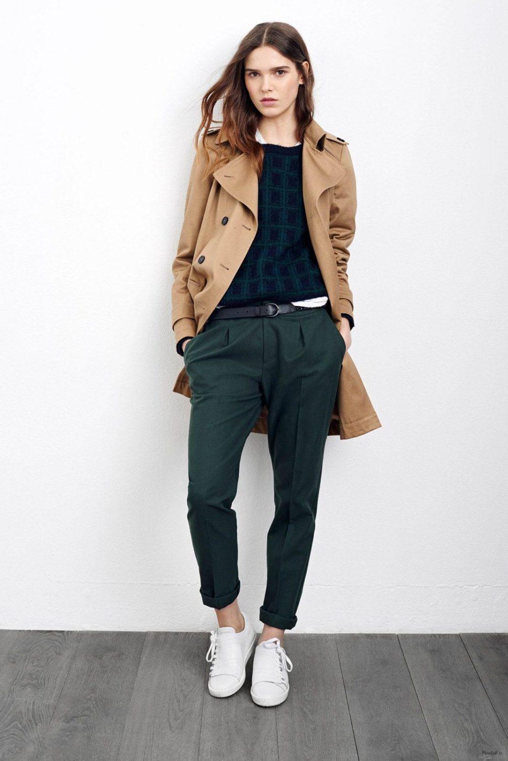 модные осенние брюки карго