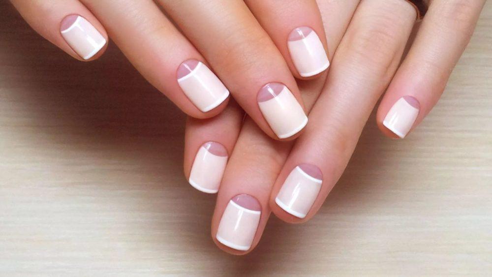 стильное оформление коротких ногтей