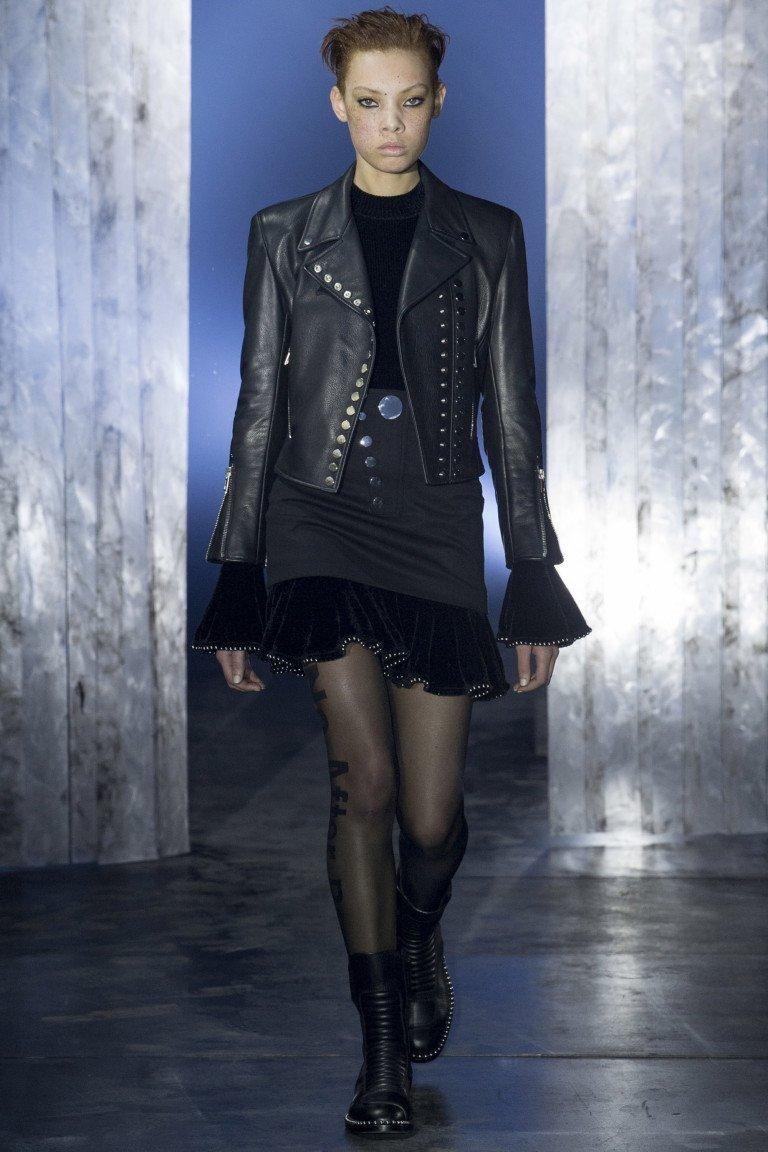 модные осенние куртки из кожи