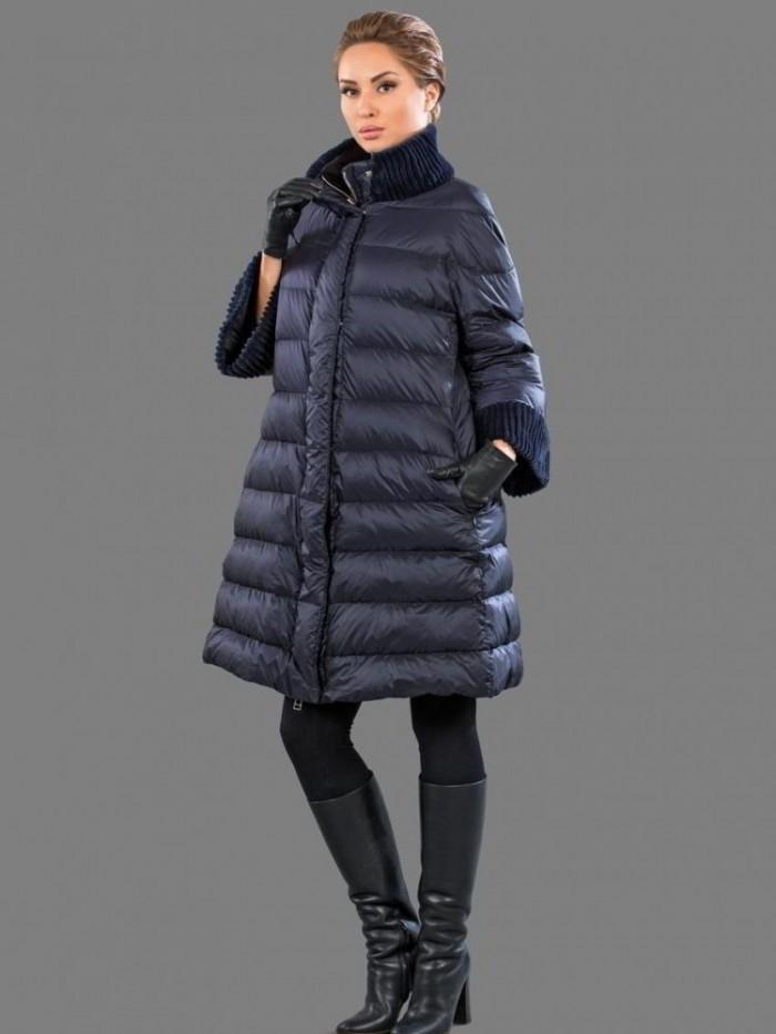 пальто-трапеция для осени-зимы