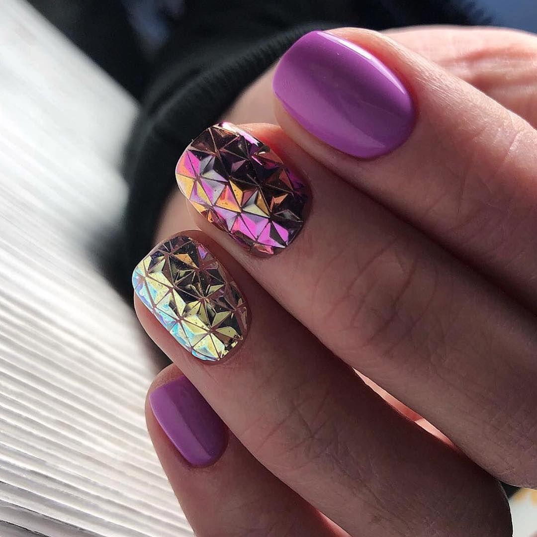 Модные новинки дизайна ногтей в 2019 году-15