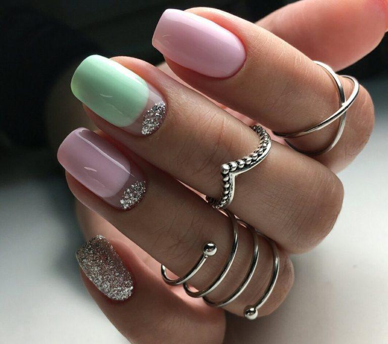 Модные новинки дизайна ногтей в 2019 году-19