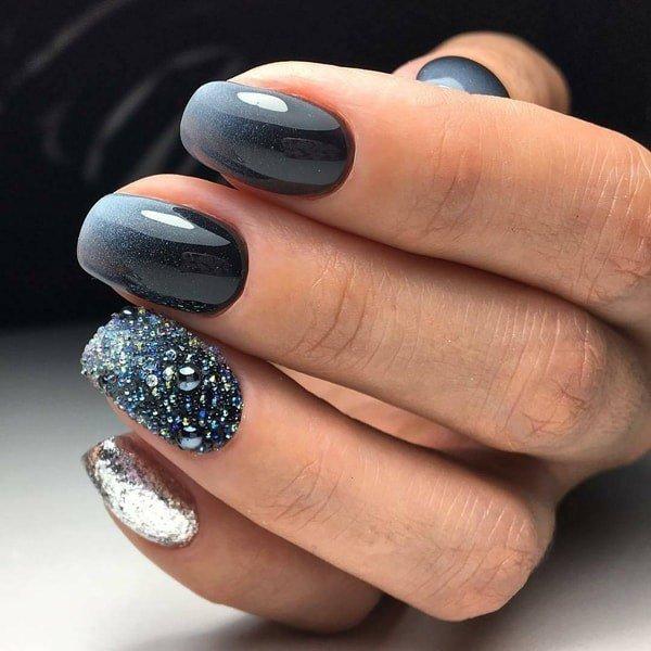 Модные новинки дизайна ногтей в 2019 году-29