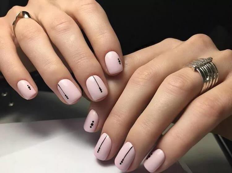 Модные новинки дизайна ногтей в 2019 году-8