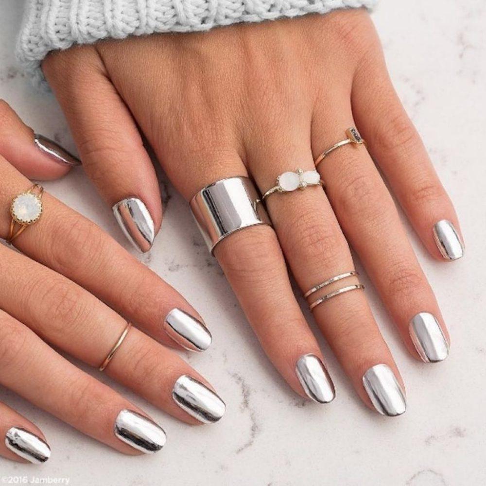 Модные новинки дизайна ногтей в 2019 году-9