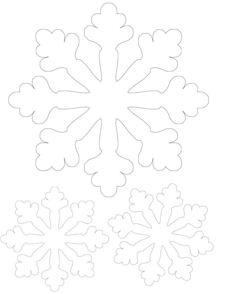 Vytynanka Snezhinka-1