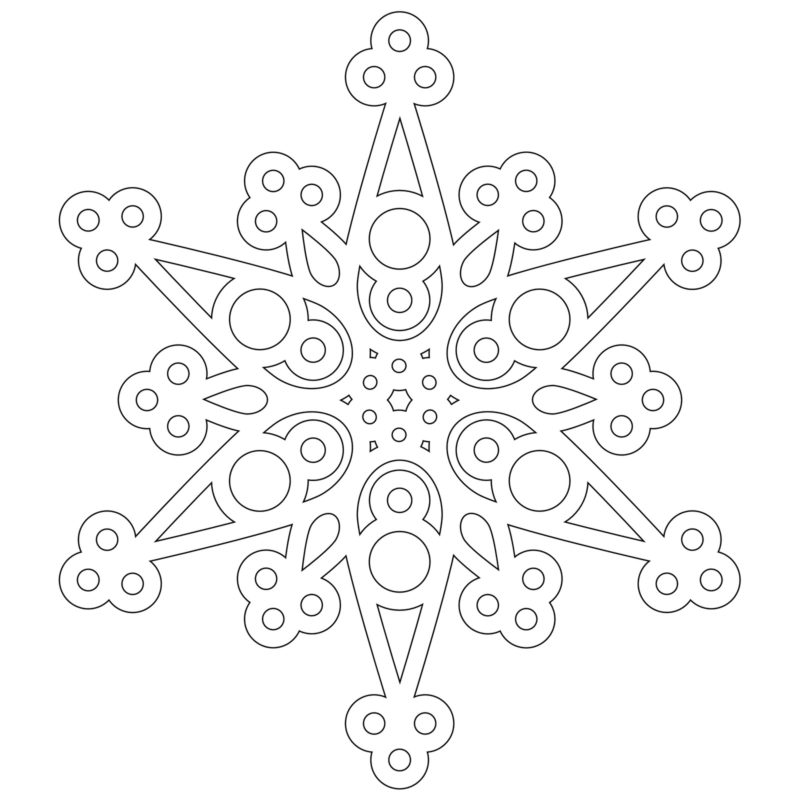 Vytynanka Snezhinka-10