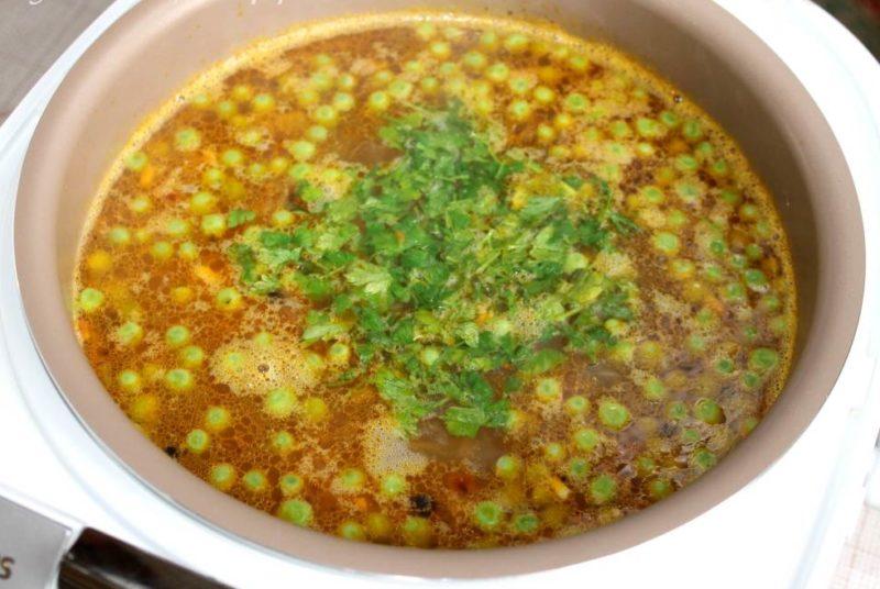 Готовый Весенний суп