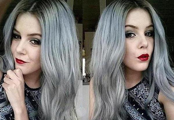 Серо-русый или мышиный цвет волос