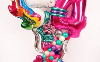 Где заказать воздушные шары на детский праздник с доставкой?