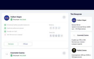 Лучшие онлайн казино Украины 2021