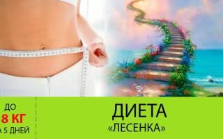"""Диета """"Лесенка"""": 5 ступеней к стройности"""
