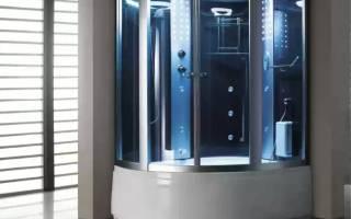 Как выбрать душевую кабину с парогенератором и гидромассажем
