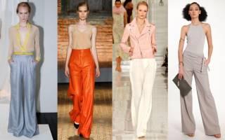 Женские брюки 2018: модные тенденции, обзор новинок