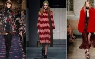 Модные тенденции верхней одежды осень-зима 2018-2019