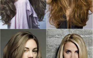 Модные стрижки на длинные волосы 2019
