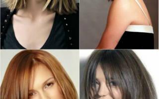 Какими стрижками порадует 2018 год волосы средней длины. Модные тенденции и цвета будущего года