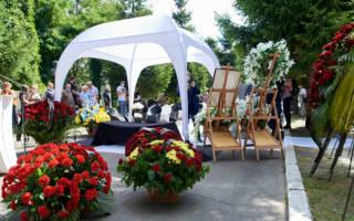 Помощь профессионального церемониймейстера при организации похорон