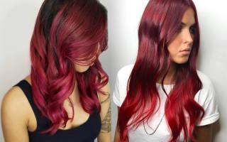 Красный цвет волос – фото