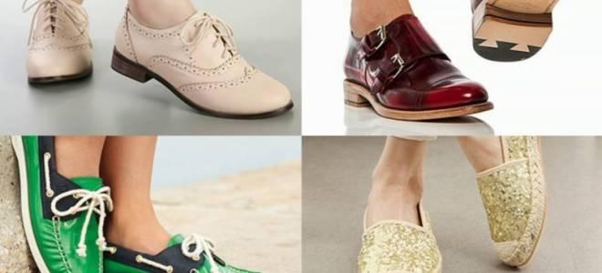 Разновидности летней обуви