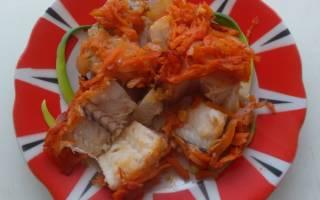 Вкуснейший хек под овощной шубкой