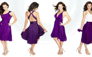 Платье трансформер: фото и видео