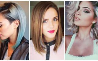 Стрижки на средние волосы – актуальные тенденции  в 2018 году