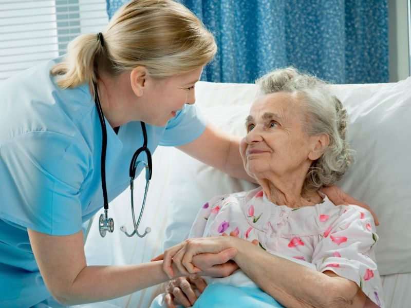 Пролежни у лежачих больных