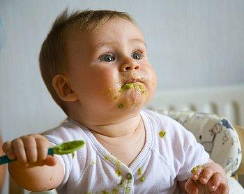 Схема прикорма ребенка