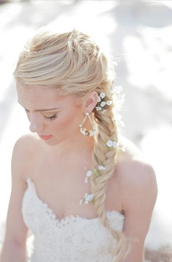 Свадебные прически на длинные волосы - фото