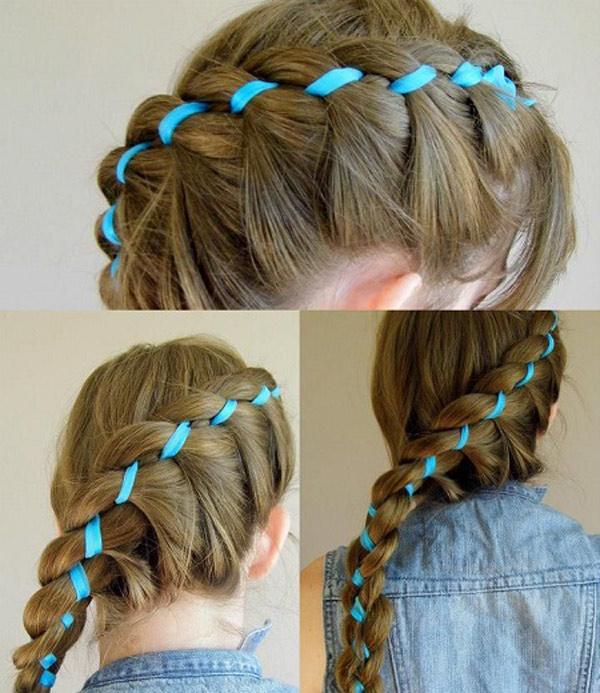 Modnye pricheski s pleteniem kos