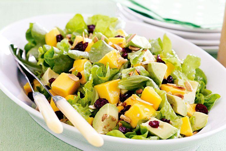 Рецепт Салата с манго на новый год