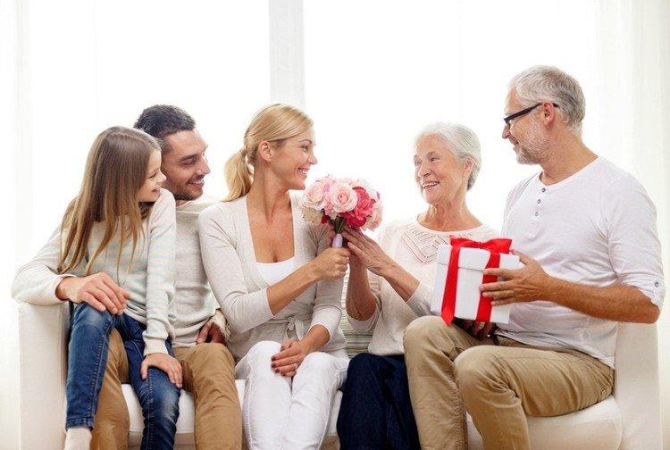Подарки для родителей на новый год