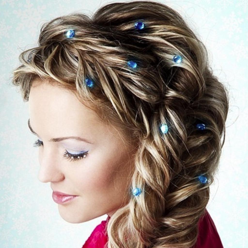 фото косы на длинные волосы 5