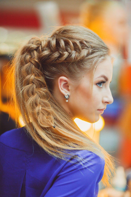фото косы на длинные волосы 9