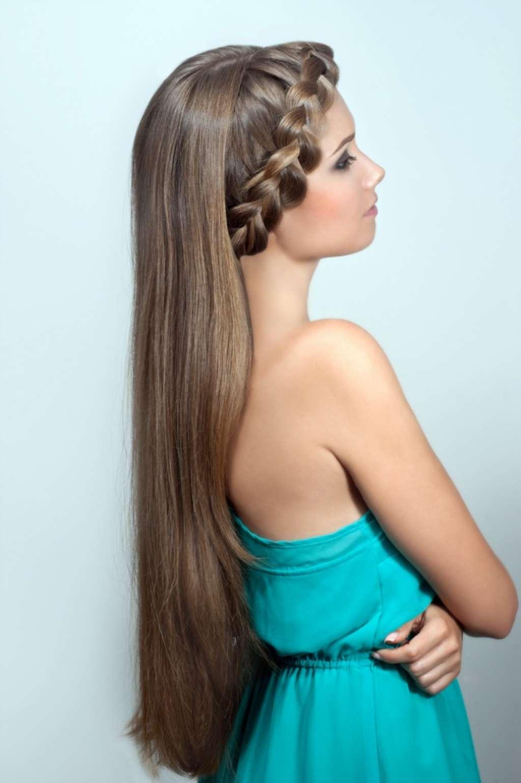 фото косы на длинные волосы 12