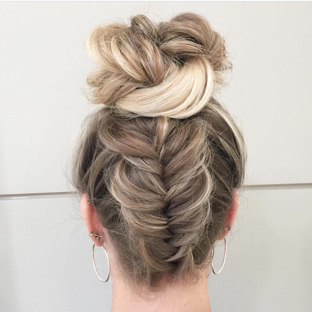фото косы на длинные волосы 14