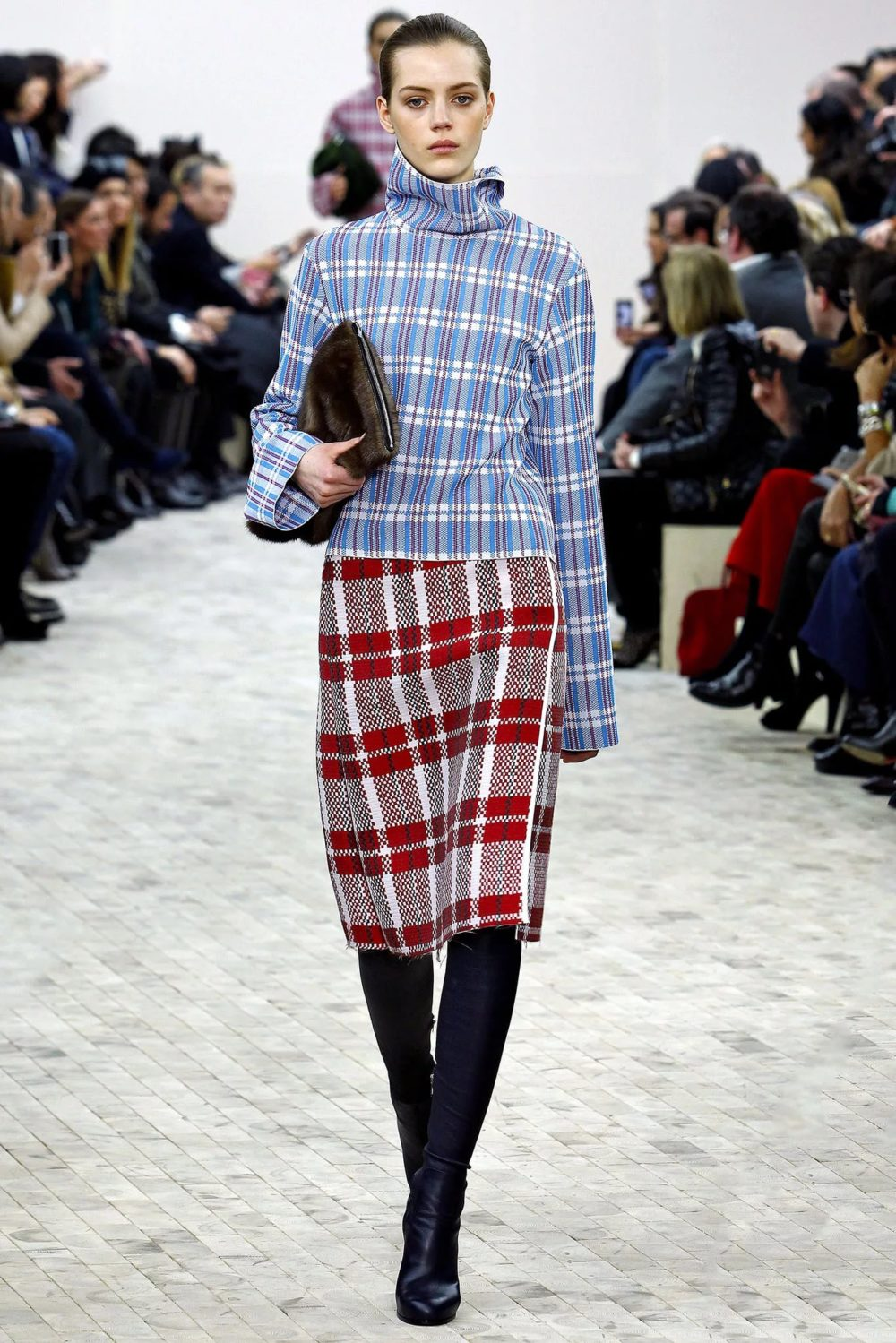 Тренд осень-зима: одежда в клетку