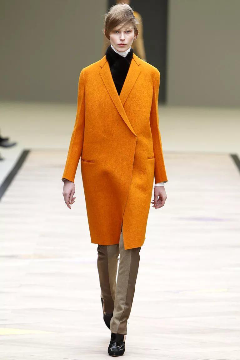 Оранжевое пламя: модный цвет наступающего года