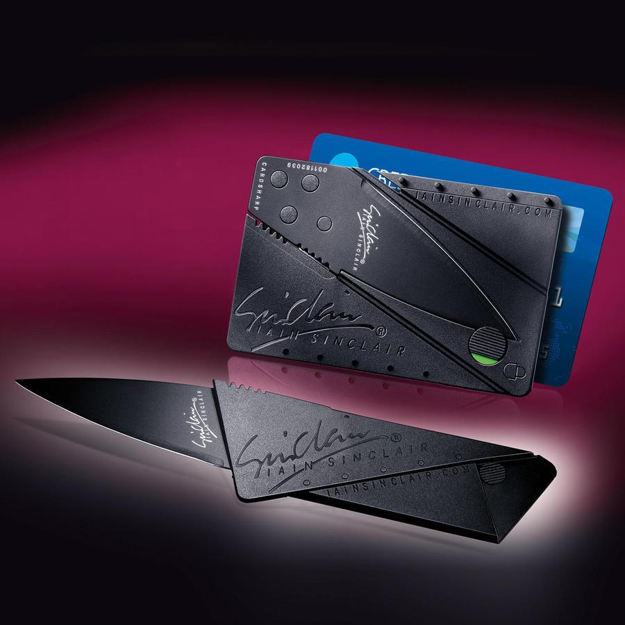 нож-кредитка в подарок папе
