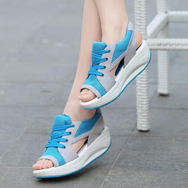 спортивные сандалии на шнуровке