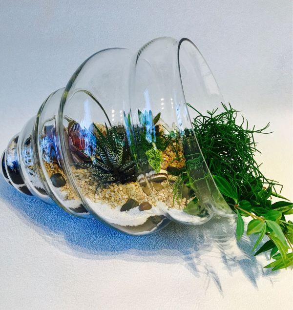 Элементы декорирования для растительных террариумов