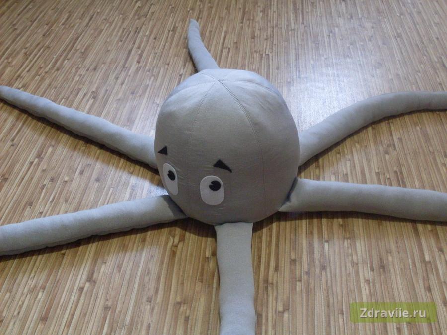 Мастер-класс: развивающая игрушка Осьминог своими руками