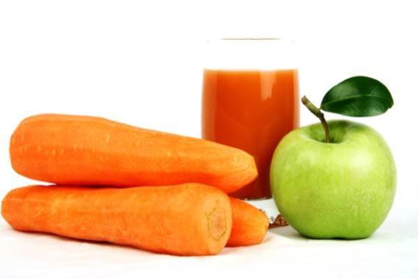 Морковно яблочный режим