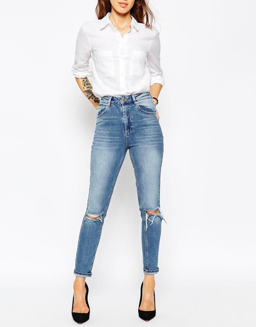 джинсовые брюки - стиль следующего года