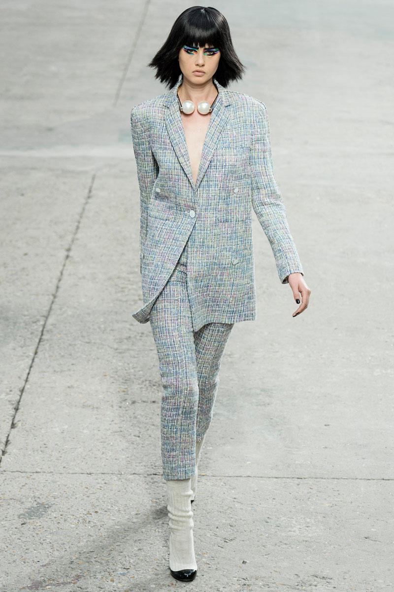 шерстяной пиджак - стиль 2019