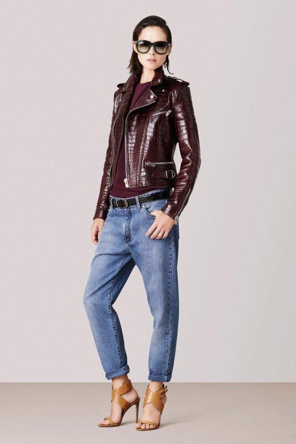 стильная куртка с джинсами - хит осени