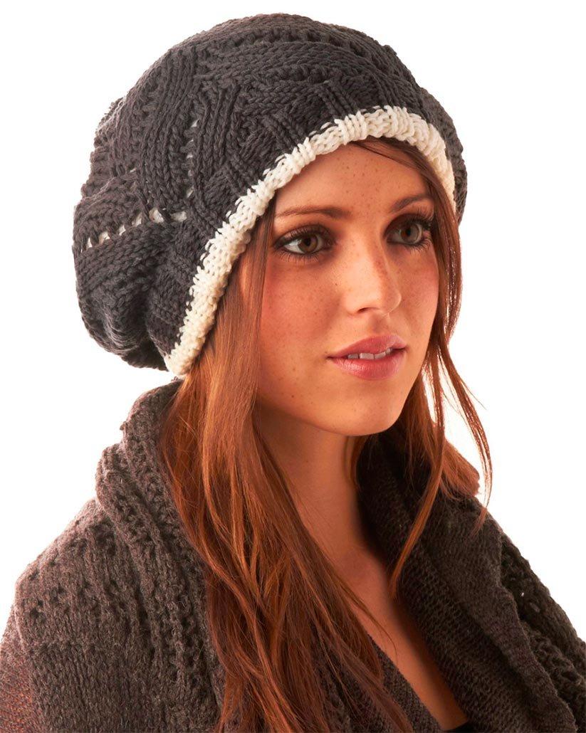 стильная вариация шапки