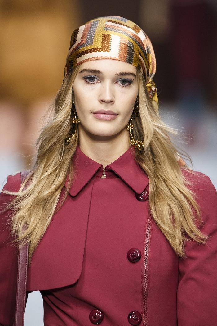 стильный платок на осень 2019